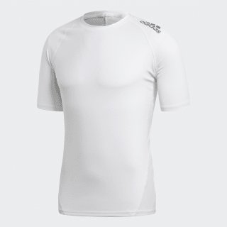 Tričko Alphaskin Sport White CD7172