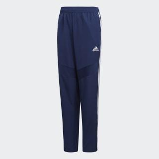 Pantaloni Tiro 19 Woven Dark Blue / White DT5781