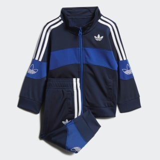 Bandrix Track Suit Night Indigo / Team Royal Blue / White FM4450