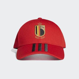 Бейсболка Бельгия collegiate red / black / bright yellow FJ0927