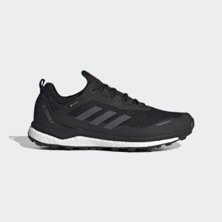Terrex Agravic Flow GORE-TEX Trail Running Shoes Core Black / Grey Six / Solar Orange EF9614