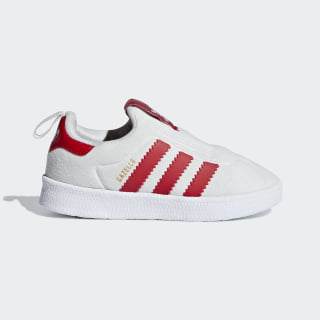 Zapatilla Gazelle 360 Grey One / Scarlet / Ftwr White CG6595