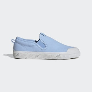 Nizza Slip-On Shoes Glow Blue / Glow Blue / Crystal White EE4871