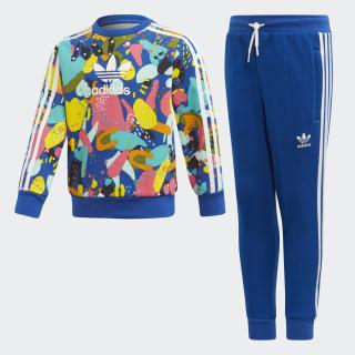 Комплект: свитшот и брюки Crew multicolor / white ED7775