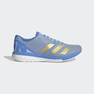 Chaussure adizero Boston 8 Glow Blue / Gold Metallic / Real Blue G28878