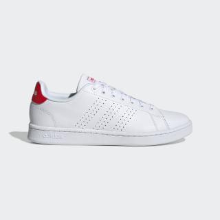 Zapatillas Advantage ftwr white/ftwr white/active red F36422