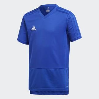 Футболка CON18 TR JSY Y bold blue / white CG0374