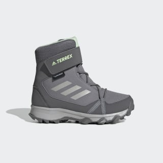 Terrex Snow CF Winter Hiking Shoes Grey Three / Grey Two / Glow Green G26580