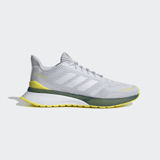 Tênis Nova Run Dash Grey / Dash Grey / Shock Yellow EG3168