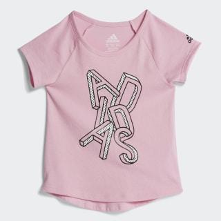 RAGLAN GRAPHIC TEE True Pink CL1804