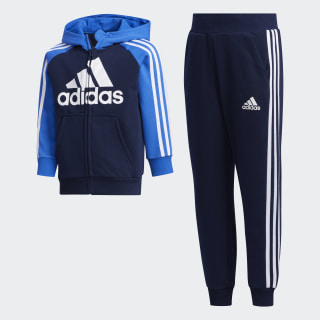 French Terry Track Suit Collegiate Navy / Blue / Collegiate Navy FM9728
