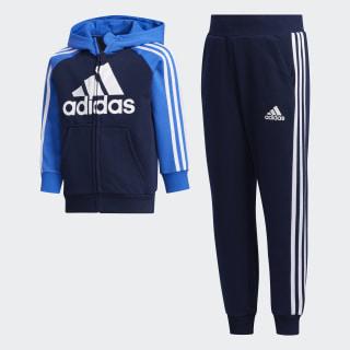 French Terry joggingsæt Collegiate Navy / Blue / Collegiate Navy FM9728