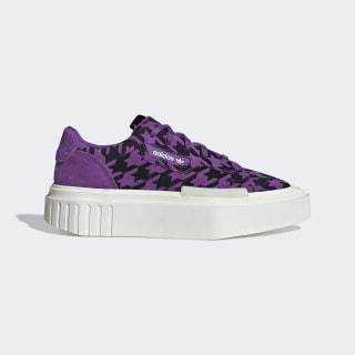 adidas Hypersleek Shoes Active Purple / Off White / Cream White G54057
