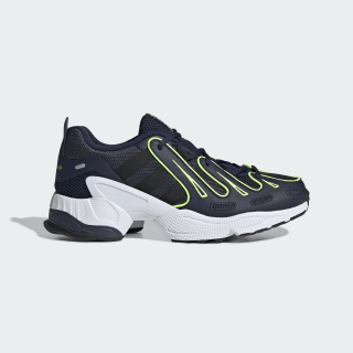 EQT Gazelle Shoes Collegiate Navy / Core Black / Solar Yellow EE4771