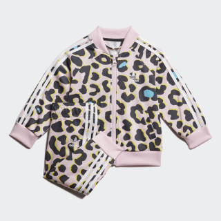 LZ SST Tracksuit Multicolor / Clear Pink / White FM9992