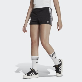 3-Stripes Short Black / White FM2610