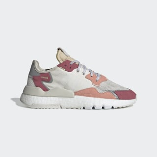 Tenis Nite Jogger Raw White / Cloud White / Trace Pink DA8666
