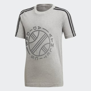 ID Graphic T-shirt Medium Grey Heather DJ1636