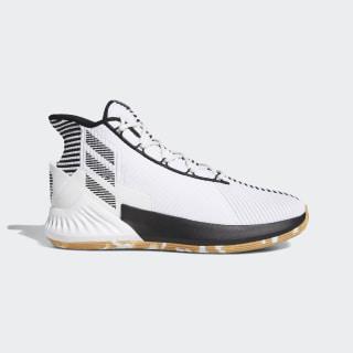 D Rose 9 Shoes Ftwr White / Core Black / Gum 3 F99880
