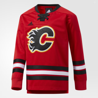 CLASSIC HOCKEY CREW LS Red CJ3346