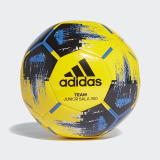 Pallone Team Junior Sala 350 Yellow / Black / Blue / Silver Metallic CZ9571