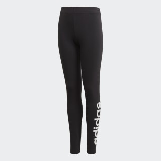 Calça Legging Linear Essentials Black / White DV0337