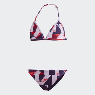 Allover Print Bikini Multicolor / Active Blue DQ3383