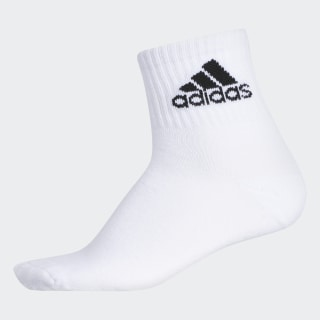 Badge of Sport Ribbed Quarter Socks White CK8400