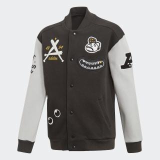 Collegiate Track Jacket Black / Grey Two FM0712