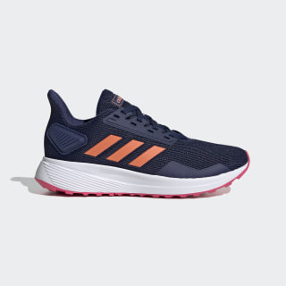 Chaussure Duramo 9 Dark Blue / Semi Coral / Real Pink EE6923