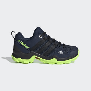 Terrex AX2R Hiking Shoes Collegiate Navy / Core Black / Signal Green EF2252