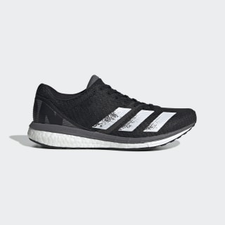 Tênis Adizero Boston 8 Core Black / Cloud White / Grey EG1168