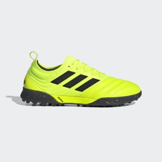 Футбольные бутсы Copa 19.1 TF solar yellow / core black / solar yellow F35511