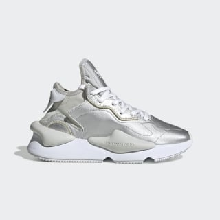 Chaussure Y-3 Kaiwa Silver Metallic / Cloud White / Silver Metallic FU9186