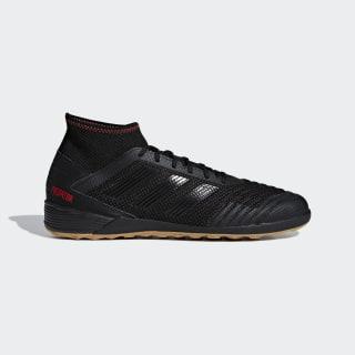 Zapatilla de fútbol sala Predator Tango 19.3 Indoor Core Black / Core Black / Active Red D97964