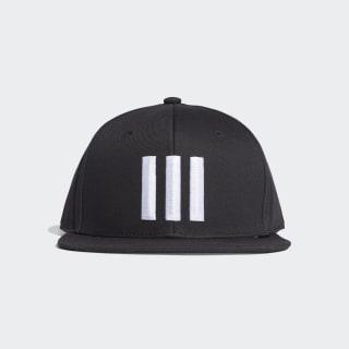 Gorra Snapback 3 Stripes black/black/white ED0247