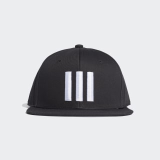 H90 3-Stripes Cap Black / Black / White ED0247