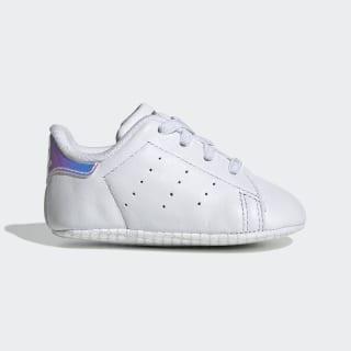 Stan Smith Shoes Cloud White / Cloud White / Silver Met. CG6543