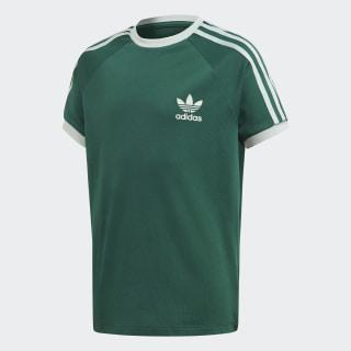Tričko 3-Stripes Collegiate Green / Vapour Green EJ9381