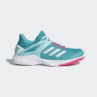 Zapatillas Adizero Club 2.0 HI-RES AQUA F18/FTWR WHITE/SHOCK PINKF18 AH2155