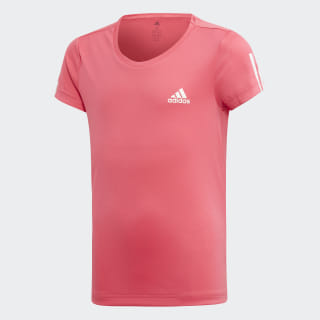YG TR EQ TEE Real Pink / White ED6292