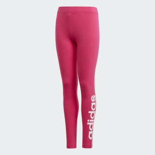 Essentials Linear Tights Real Magenta / White DV0365