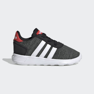 Lite Racer Shoes Core Black / Cloud White / Active Red EE6974