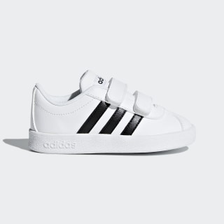 VL Court 2.0 Shoes Cloud White / Core Black / Cloud White DB1839