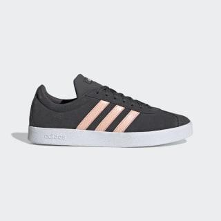 VL Court Schuh Grey Six / Glow Pink / Cloud White EE6786