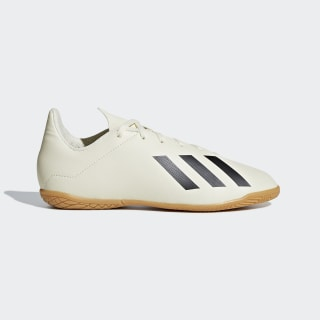 Chuteira X Tango 18.4 Futsal OFF WHITE/CORE BLACK/GOLD MET. DB2432
