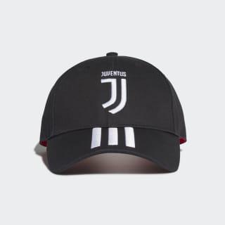 Boné 3-Stripes da Juventus Black / White / Active Pink DY7527