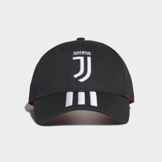 Gorra Juventus 3-Stripes Black / White / Active Pink DY7527