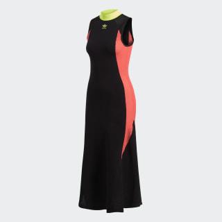 AA-42 Knit Dress Black / Flash Red CE0977