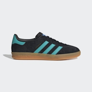 Scarpe Gazelle Indoor Core Black / Hi-Res Aqua / Cloud White EE5732